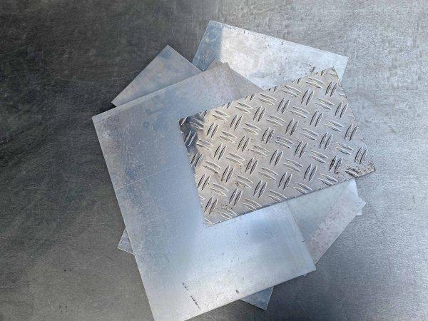 Metallschrott verkaufen: Aluminium Bleche