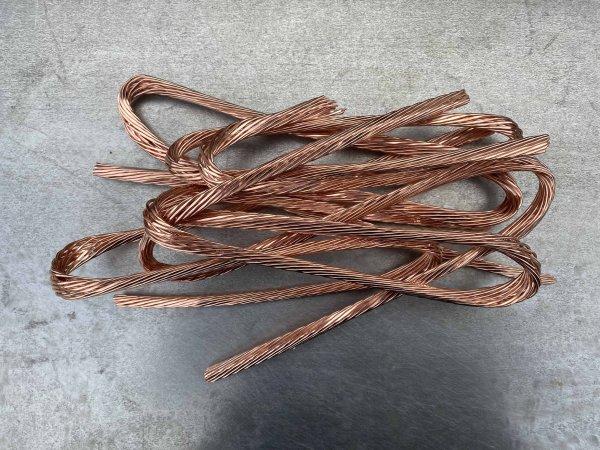 Kupfer Millberry verkaufen:Kalt abisoliertes Elektrikerkabel Kupfer Millberry als Metallschrott verkaufen:
